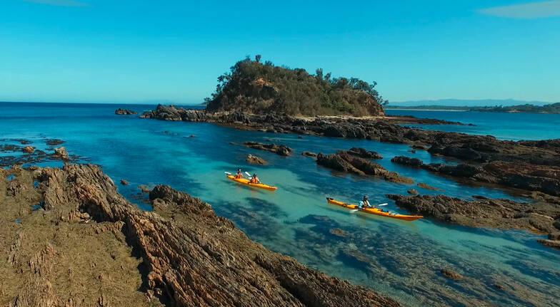Kayaking - Batemans Bay