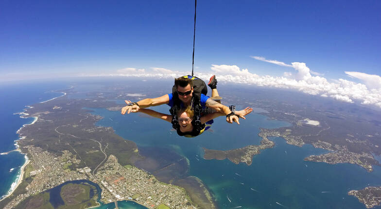Skydiving - Newcastle