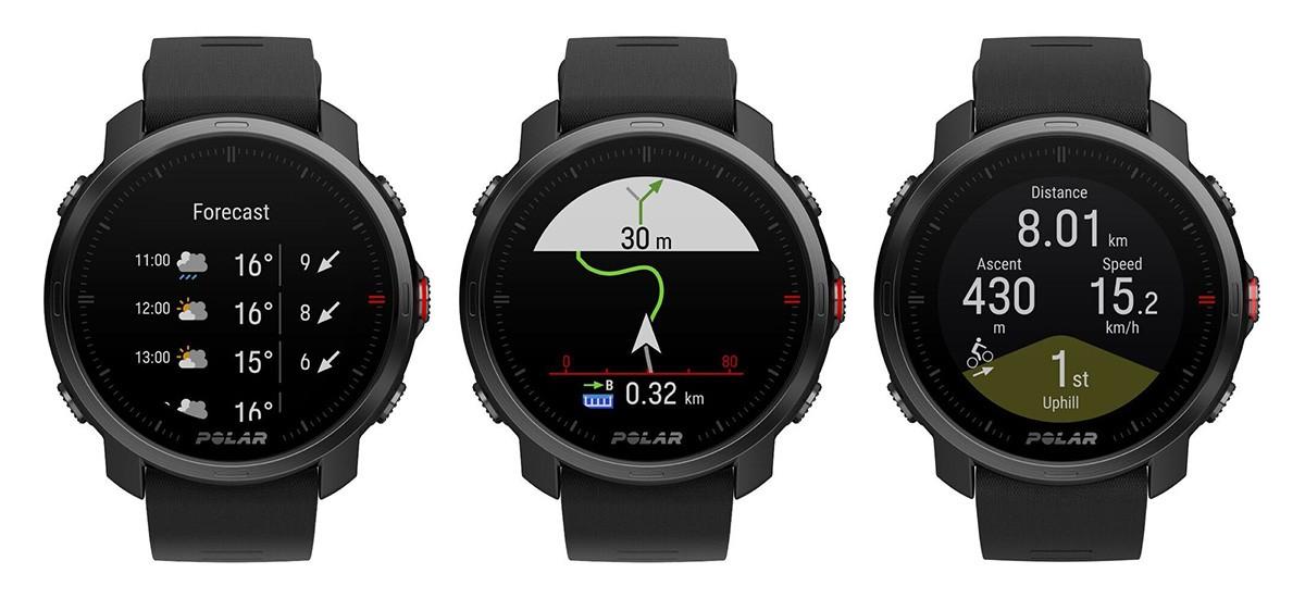 Polar Grit X HR GPS Multisport Watch