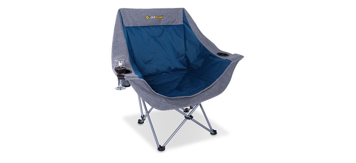 Oztrail Moon Chair With Arms