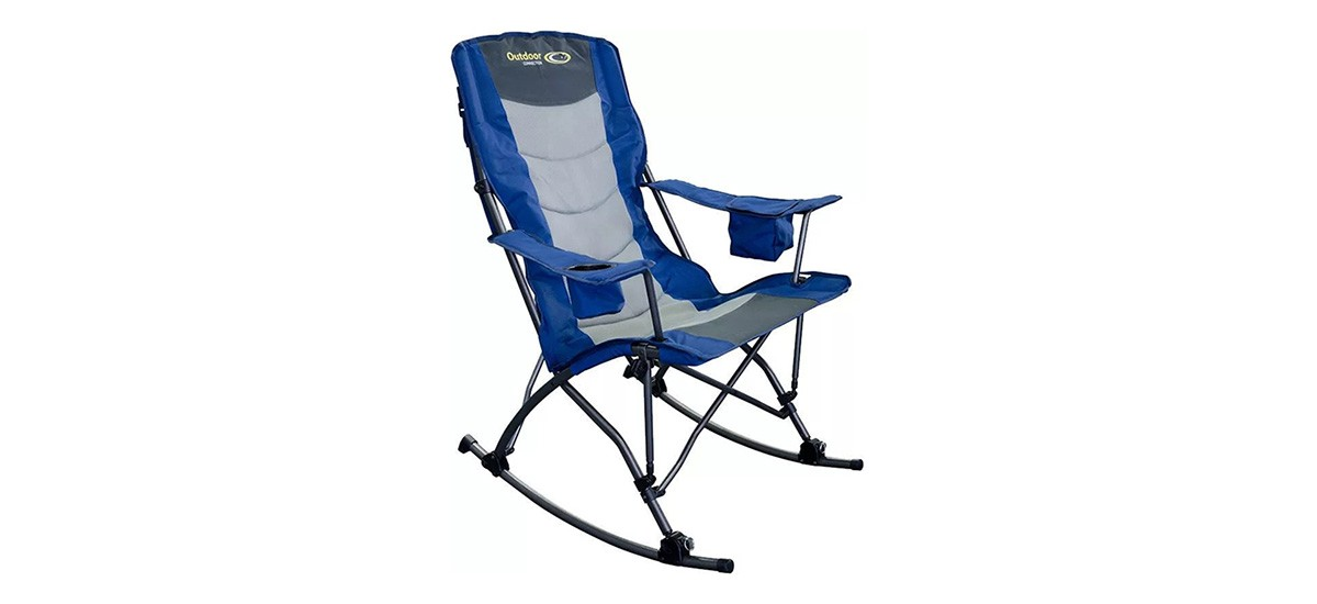 Outdoor Connection King Rocker Camp Rocking Chair